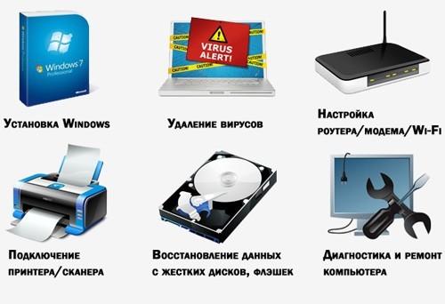 компьютерные услуги Клин